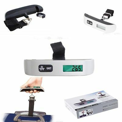 NEW Digital Luggage Scale Electronic Portable Scale Weight Suitcase Travel 50 KG