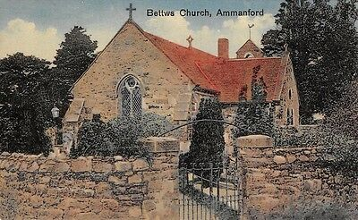 WALES - BETWS, Church,  Ammanford