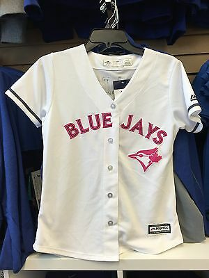 Toronto Blue Jays Cool Base Mothers Day Jersey Women's Medium