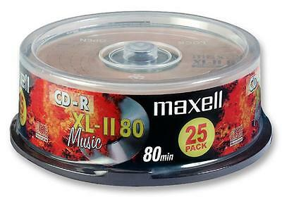 MPN: 628529.00.CN _ Cd-R For Music 25Pk Spindle _ MAXELL / Pack of: 25