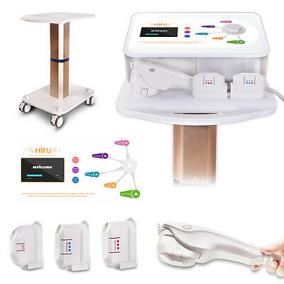 High Intensity Focused Ultrasound Hifu Ultrasonic Machine+Trolley Rolling Stand