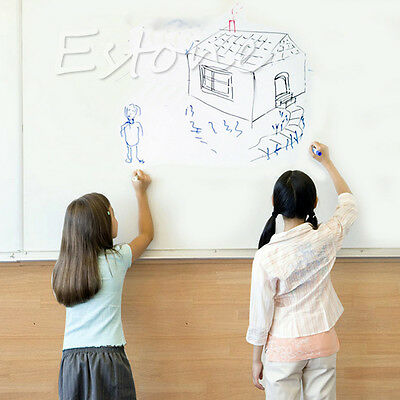 Removable Whiteboard Office Wall Sticker Kids Drawing Writing Erasable Kids DIY