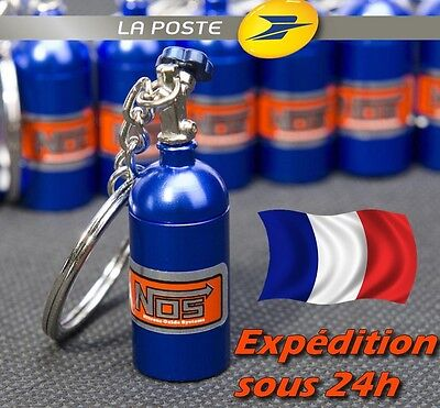 Bouteille NOS NITRO / Porte Clés Keychain Llavero / TUNNING NITROUS OXYDE BOOST