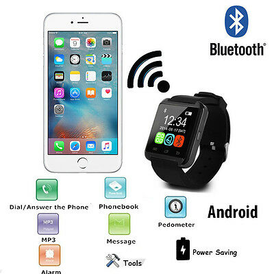 Smartwatch Android Bluetooth Phone Orologio Per Samsung Apple Smart Watch