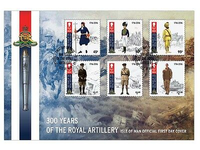 Royal Artillery 300 First Day Cover  (UG91)