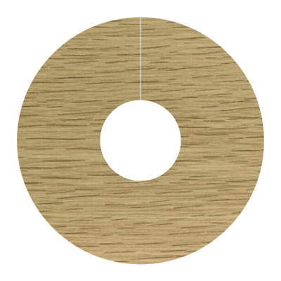 Self Adhesive Pipe Covers Radiator Rings For Laminate Floors NATURAL OAK - FC15