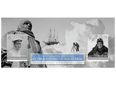 In the Footsteps of Shackleton Miniature Sheet (UH25)