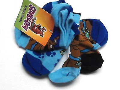 5 Pack Scooby Doo Socks Boys Girls Toddler Size 5-6.5 Nwt