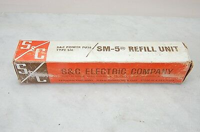 S&C Electric Company SM-5 Refill Unit Cat. # 1325000R4 TYPE SM-5