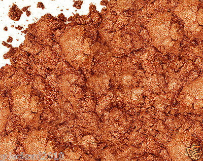 Copper Sparkle Mica Powder 1/10 oz 3 grs Cosmetics Lips Eyes & Soap Making