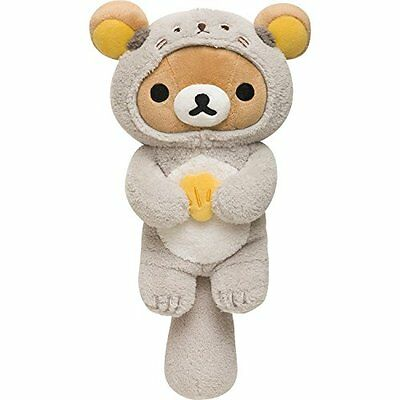 New! Japan Rilakkuma Bear Sea otter Stuffed Doll Plush San-X Gray Free Shipping