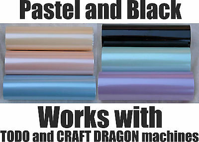 Todo Craft Dragon Hot Foil Machine Heat Go Press 12cm x 10m  5 inch x 32ft