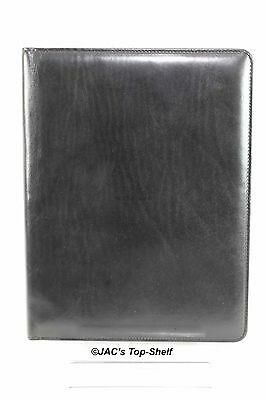 Bosca Old Leather Writing Pad Notepad Cover 8 1/2 x 11 Folio 922-59 Black