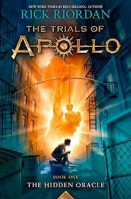 Trials of Apollo: The Hidden Oracle Bk. 1 by Rick Riordan (2016, Hardcover)