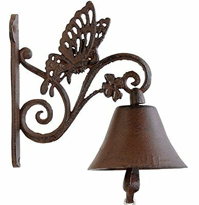 Cast Iron Butterfly Doorbell, New, Free Shipping