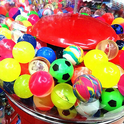 10pcs 27mm Colorful Bouncy Jet Balls Birthday Party Loot Bag Toy Filler Gifts