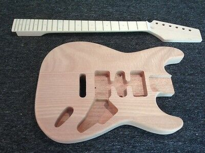 DIY Guitar Kit - Guitar Kit – Standard Strat Mahogany (Body & Neck)