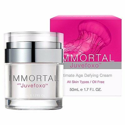 Immortal With Juvefoxo 50ml - Ultimate Age Defying Anti-ageing Cream
