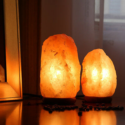 Himalayan Natural Air Purifier Salt Lamp Rock Tower Pack-2(7.5-8.5inch,4-6lbs)