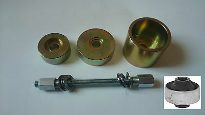 VW Audi Front Axle Rear Lower Track Control Arm Bush Removal Install Puller Tool