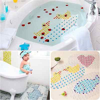 Bathroom Pad PVC Mat Bath Shower Bathing Cobblestone Rug Bubble Non-Slip Safety