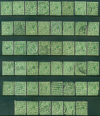Great Britain Sg-418, Scott # 187 Used, 25 Stamps, Read, Great Price!