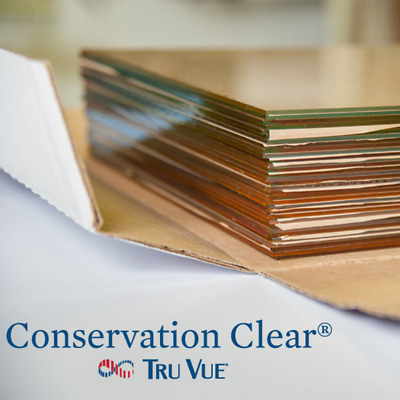 """3 Pieces 12"""" x 16"""" Tru Vue Conservation Clear Picture Frame Glass"""
