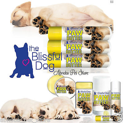 Blissful Dog Paw Butter moisturizing support & treatment for dry, rough paw pads