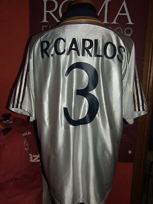 R.carlos Real Madrid 1998/99 Maglia Shirt Calcio Football Maillot Jersey Soccer