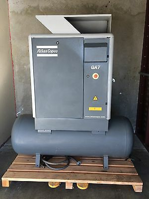 Atlas Copco GA7 rotary screw air compressor