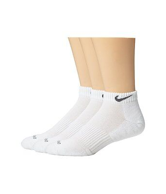 Nike Golf DRI-FIT ANKLET Unisex Adult Socks 3-Pair SG0491-101 Choose Size
