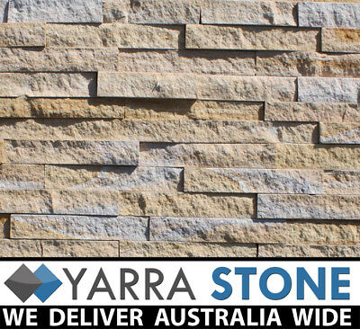 Stackstone / Natural Stone wall Cladding / Stacked Stone / Stone Tiles -beige