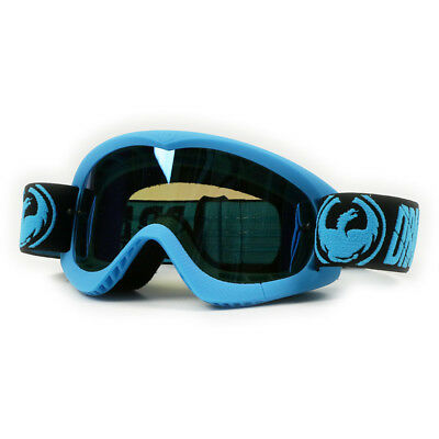 Dragon NEW Mx Kids MDX Merge Dirt Bike Youth Blue Tinted Motocross Goggles