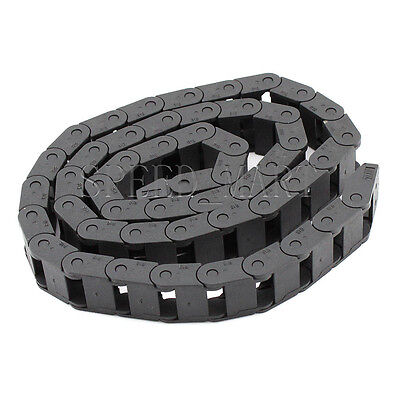 "1 PCS Plastic Cable drag chain wire carrier 10*20mm R18 1000mm (40"")"