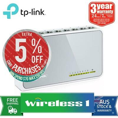 TP-Link TL-SF1008D 8 Port Unmanaged Switch