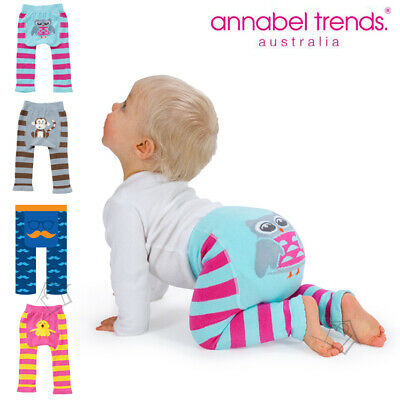 NEW Annabel Trends Little Baby Footless Tights Stretchy Leggings 6-12 months