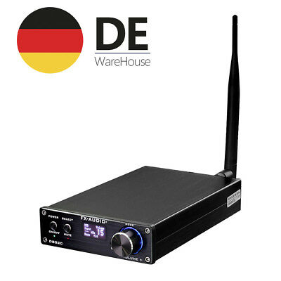 160W Digital Amplifier Remote USB Optical Coaxial Bluetooth AUX HiFi Verstärker