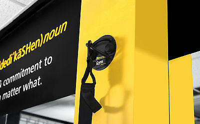 NEW PowerGym Fitness Suspension Trainer Wall Ceiling X Mount Hook  TRX