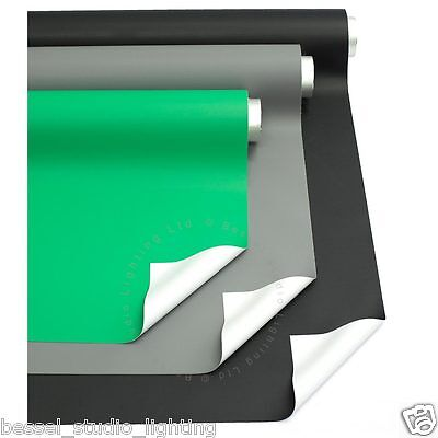 3 PACK - 2.5m x 5m Black & Grey & Green Photographic Backdrop Background Vinyl