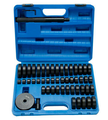 50pc Bearing Seal Driver Tool kit Custom Bushing Bearing Hydraulic Press