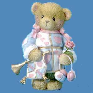Cherished Teddies Our Love Is The Greatest Gift 114042 NIB