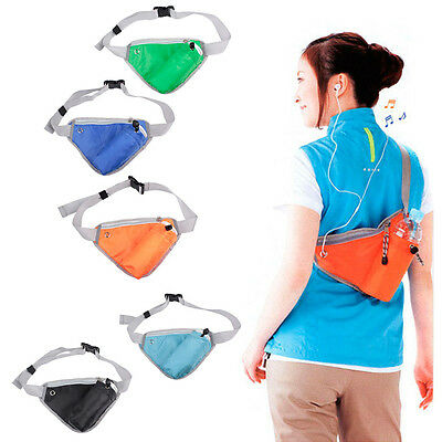 Sports Waist Pack Carry Bag For Mobile Phone Water Bottle Snack