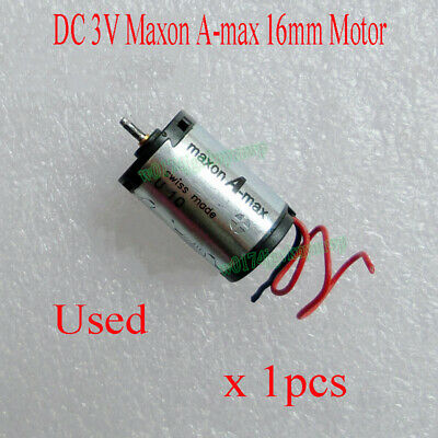 Used DC 3V Maxon A-max 16mm Low voltage High Speed DC Coreless Gear Motor
