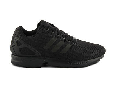 ADIDAS ZX FLUX ALL BLACK S79092 (AF6404) Scarpe running unisex