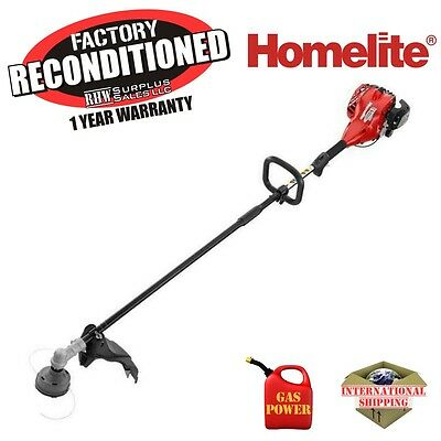 Homelite UT33650 26cc Gas Powered 17 in. Straight Shaft Trimmer ZR33650 Recon
