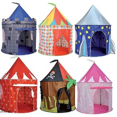 Kids Pop up Tent Play House Pirate, Princess, Castle and more by Spirit of Air