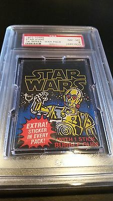 1977 Topps Star Wars Series 1 Wax Pack Unopened PSA 8 (Highest Graded Packs)