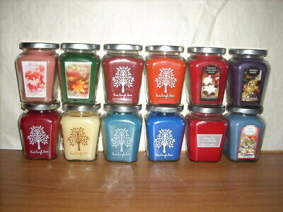 home interiors gifts homco candle in a jar 7 5 oz retired scents