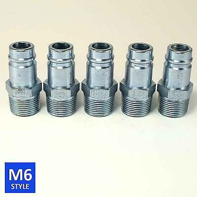 Foster 6 Series Quick Coupler Plug 3/4 Body 3/4 NPT Air and Water Hose Fittings