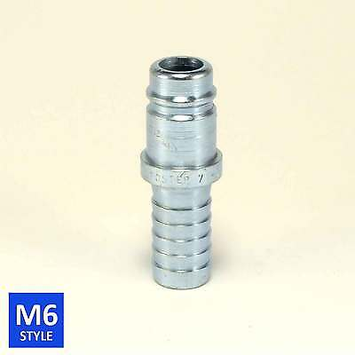 Foster 6 Series Quick Coupler Plug 3/4 Body 3/4 Hose Barb Air Water Fittings